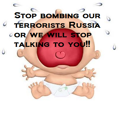 stop bombing our terrorists