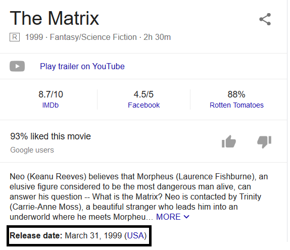matrix dating youtube