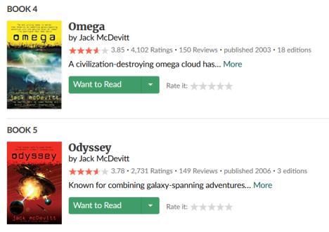 omega odyssy